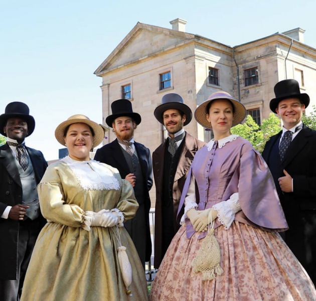 Confederation Players Walking Tours 1