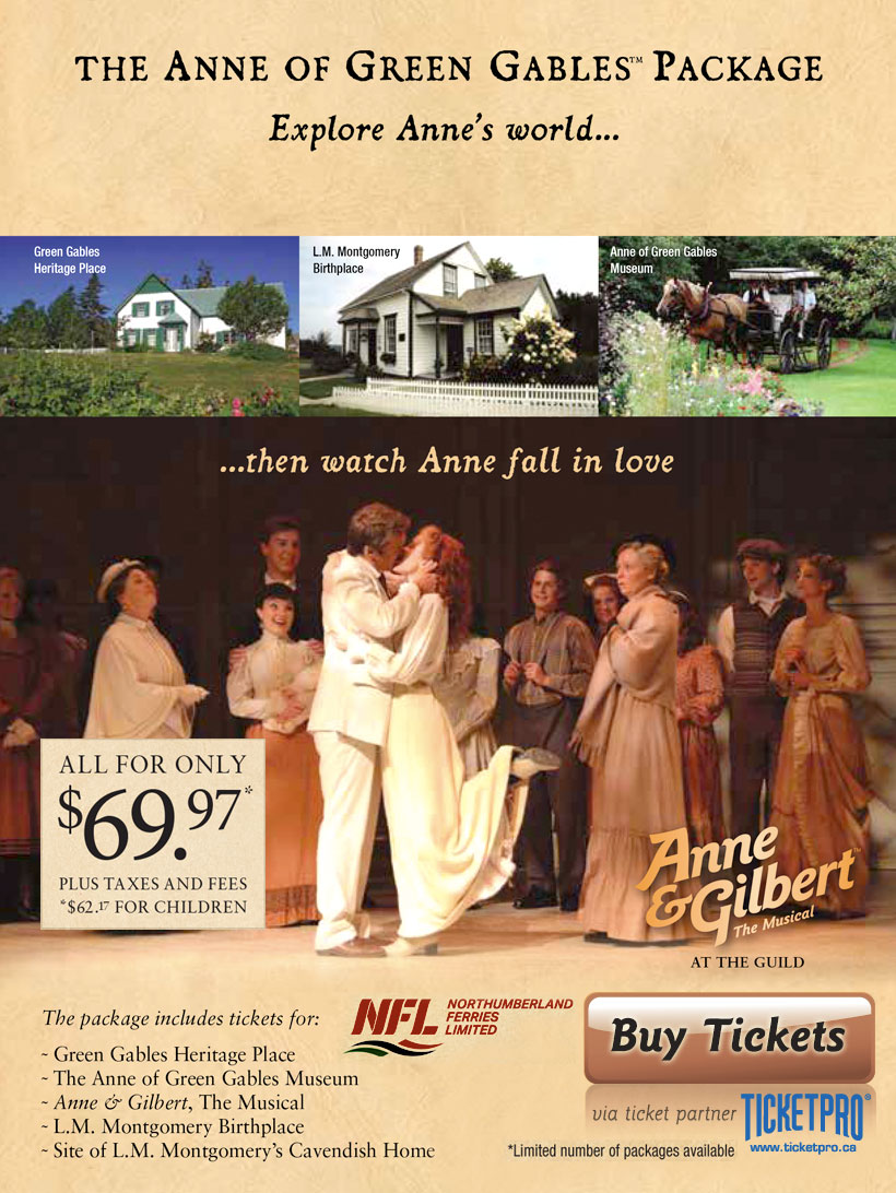 Anne of Green Gables Package 2
