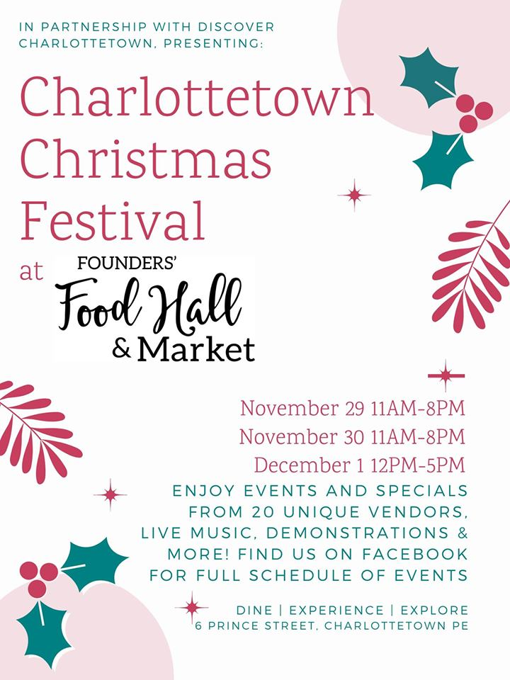 Charlottetown Christmas Festival - Founders Food Hall & Market