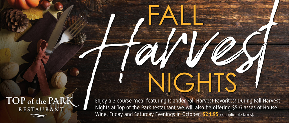 Fall Harvest Nights at Red Shores
