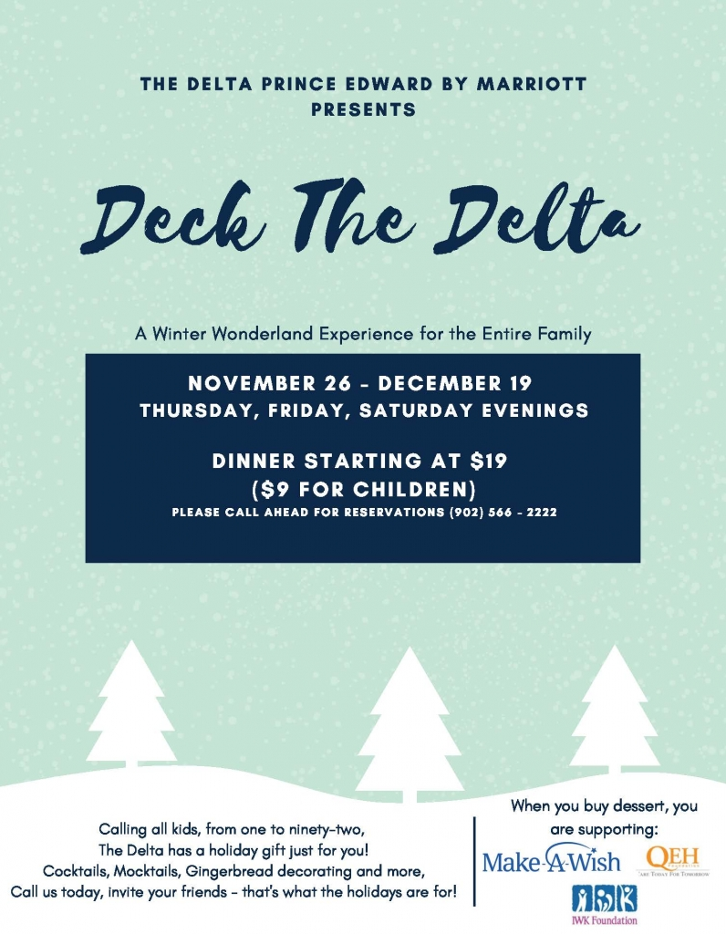 Deck The Delta - A Winter Wonderland Experience for the Entire Family 1